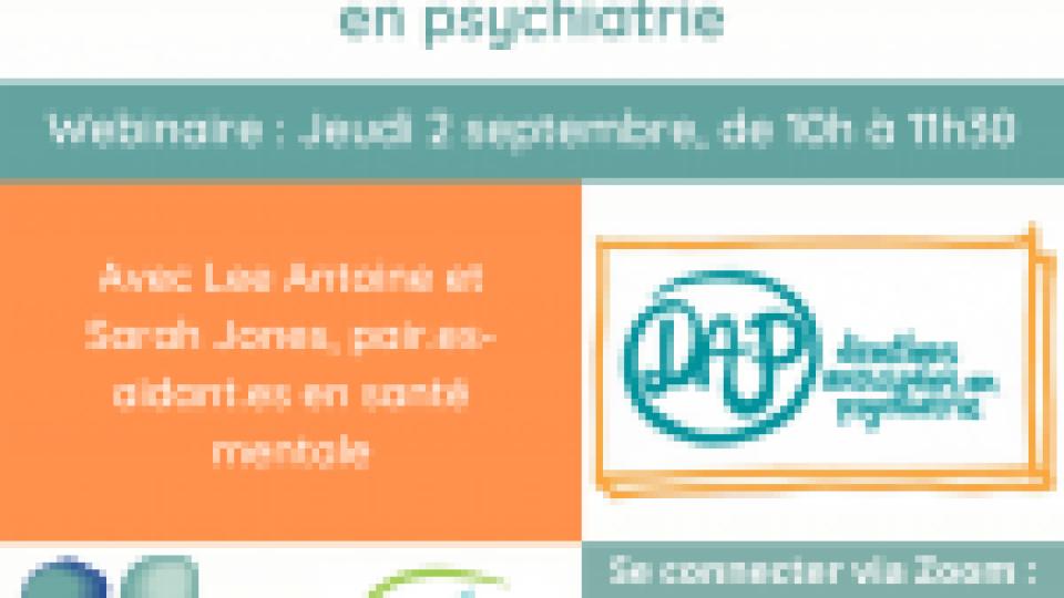 [Webinaire] Les directives anticipées en psychiatrie – Sarah Jones et Lee Antoine